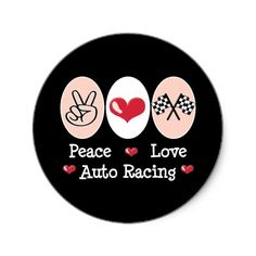 peace_love_auto_racing_checkered_flag_stickers-p217829120821566645z85xz_400