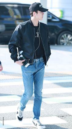 Exo Chen, Chanyeol, Exo 2014, Hunhan, Airport Style, Airport Fashion, China, Exo Members, Yixing