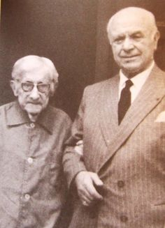 Eduardo López-Chavarri y José Iturbi, en los años 60