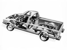 1982-92 Volkswagen Caddy (Type 14) - Illustrator unknown