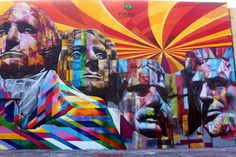 Eduardo Kobra La Brea Avenue, Los Angeles. (Photo: Lord Jim/Flickr) http://www.mnn.com/lifestyle/arts-culture