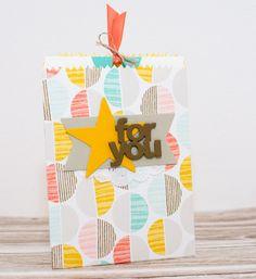 Stampin Up Mini Treat Bag Thinlits Formen Mini-Leckereintüte Glücksmomente So You