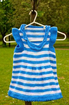 miss sail away dress #knitted #fashion