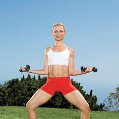 External Rotation and Plie Squat - Fitnessmagazine.com