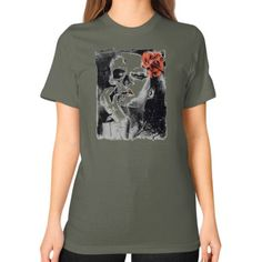 They Lived Unisex T-Shirt (on woman)