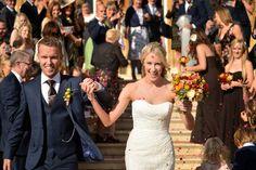 Wrest park wedding photographs confetti (Image © Harry Richards)