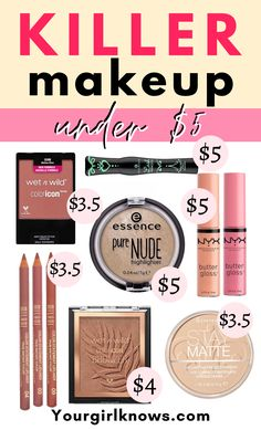 Drugstore Makeup Dupes, Nyx Highlighter, Concealer, Best Makeup Products, Beauty Products, Beauty Dupes, Lush Products, Hair Products