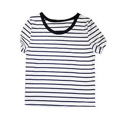 Weixinbuy Womens Sexy Striped T-shirt Casual Midriff Shor... https://www.amazon.com/dp/B00X3J6YT6/ref=cm_sw_r_pi_dp_KHGCxbKF6P3K6