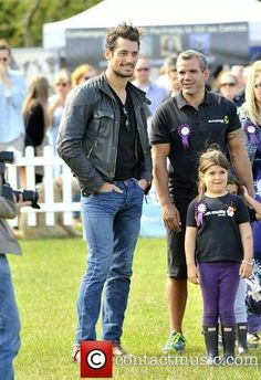 David Gandy with family