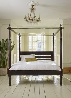 Canopy Wood Bed balinese teak wood hand carved four poster canopy bed medium stain