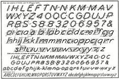 Essentials of Lettering: Chapter 2  letter construction, accent lines, spacing