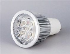 SENKO GU10 5*1W 3000-3200K Warm White Light LED SpotLight with Transparent Lens (Silver) by QLPD. $30.16. This is a super bright warm white light LED spotlight with low power consumption.