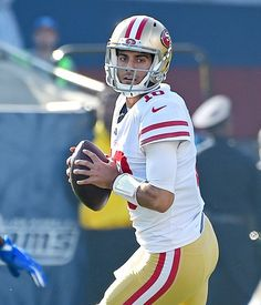 8c77fc049 Joe Staley shares what makes 49ers QB Jimmy Garoppolo so special
