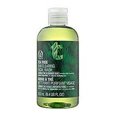 The Body Shop Tea Tree Skin Clearing Facial Wash Regular, 8.4-Fluid Ounce $11.00