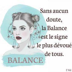 Balance : Représenté par un symbole arqué surmontant un trait horizontal et associé à la planète Vénus, le signe astrologique de la Balance