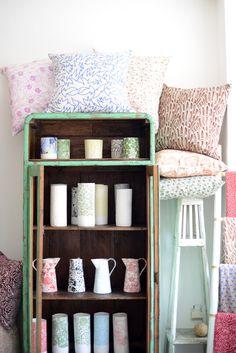 Samantha Robinson shop in Seminyak, Bali  mini vases