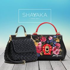 Dolce & Gabbana Sicily Small Raffia Shoulder Bag   21 x 25 x 12 cm   Available Now  Dolce & Gabbana Lucia Floral Leather Bag   18 x 25 x 12 cm   Available Now  For purchase inquiries, please contact sales@shayyaka.com or +961 71 594 777 (SMS, WhatsApp, or iMessage) or Direct Message on Instagram (@Shayyaka)  Guaranteed 100% Authentic / Worldwide Shipping / Bank Transfer or Credit Card
