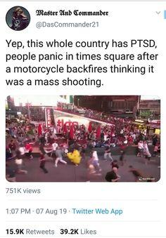 The whole US has PTSD #funny #memes #jokes Funny Labs, Funny Memes, Jokes, Ptsd, Laughter, Things To Think About, Humor, Live, Random