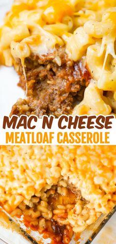 Easy Ground Beef Casseroles, Ground Beef Recipes Easy, Vegan Recipes Easy, Cooking Recipes, Top Recipes, Pasta Recipes, Kitchen Recipes, Cheese Recipes, Tutorials