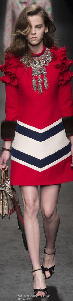 Fall 2016 Ready-to-Wear Gucci +