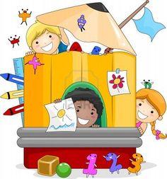 Kindergarten Teacher Pre-school Clip Art - Fun Activities For Kids Coloring Book Edition Preschool Themes, Fun Activities For Kids, Coloring For Kids, Coloring Books, Clown Crafts, School Clipart, Student Clipart, Student Cartoon, Happy Teachers Day