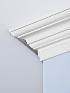 Interior Trim, Home Interior Design, Interior Decorating, Decorating Ideas, Crown Molding Styles, Moulding, Molding Ideas, White Plank Walls, Cornice Design