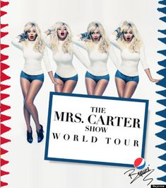 A blonde Queen Bey! Check out the new promo for Beyoncé's upcoming Mrs. Carter Show World Tour.