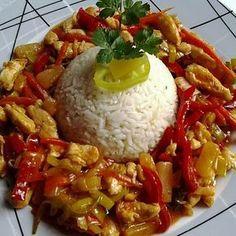 Meat Recipes, Asian Recipes, Chicken Recipes, Dinner Recipes, Cooking Recipes, China Food, Caribbean Recipes, Caribbean Food, Hungarian Recipes