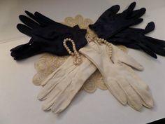 Vintage Ladie's Gloves Set of 3
