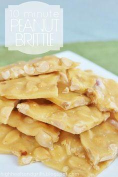 10 Minute Peanut Brittle