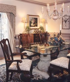 Table Settings, Middle, Dining Room, Table Decorations, House, Furniture, Home Decor, House Decorations, Decoration Home