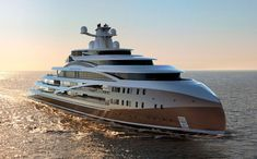 338-Foot Sea Hawk Superyacht Concept