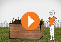 #Hochbeete sind praktisch und vielseitig. Blumen, Gemüse oder Kräuter - Hochbeete sind wahre Multitalente. Das Video gibt Ihnen eine #Bauanleitung, damit Sie schnell und einfach ein Hochbeet selbst bauen können.