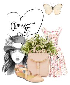 """""""Old time favourites."""" by doris-popovic ❤ liked on Polyvore featuring moda, Unique Vintage, Nearly Natural e See by Chloé"""