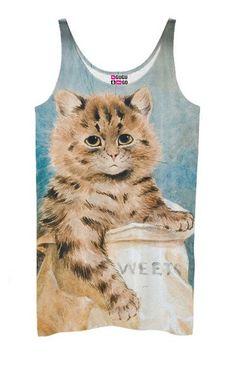 Kitty tank top (proj. Mr.Gugu