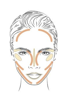 Beauty Tips YSL Beauty has created a genius guide to contouring, using Cara Delevingne's face. Learn all the beauty tips and tricks here. - Forget the Kardashians, YSL shows you how to master contouring with Cara. Ysl Beauty, Beauty Makeup, Eye Makeup, Hair Makeup, Hair Beauty, Makeup Eyebrows, Beauty Magic, Women's Beauty, Makeup Geek