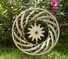 Lughnasadh Wheat Wreath
