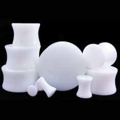 Find More Body Jewelry Information about 2pcs/lot White UV Acrylic Ear Gauges Plugs And Tunnels Stretching Expander Double Flared Saddle Fit Plugs 6mm 20mm Choosable AC2,High Quality gauge plug,China ear gauges plugs Suppliers, Cheap plugs and tunnels from DreamFire Store on Aliexpress.com