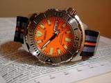 Seiko Orange Monster Seiko Monster, Monsters, Orange, Watch, Boots, Clock, Bracelet Watch, Clocks, The Beast