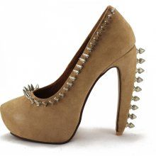 *Jeffrey Campbell: Madame Spikes - Nude