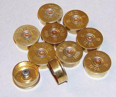 12 gauge shotgun shell brass heads (Lot of for Jewelry/Arts & Craft making - Matching Winchester Cornflower Wedding, Bullet Casing Crafts, Shotgun Shell Crafts, Crafts To Make, Arts And Crafts, Jewelry Art, Unique Jewelry, Resin Table, Gauges