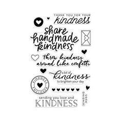 Hero Arts Clear stamps ACTS OF KINDNESS CL911