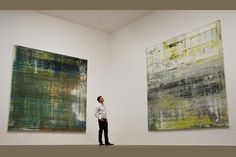 Gerhard Richter  two of his better pieces!