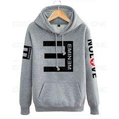 Cosdaddy / Eminem Hip Hop Sweater Hoodie Kapuzenpullover Schwarz Cosplay Kostüm (XL, Grau) CosDaddy http://www.amazon.de/dp/B0194M6CCO/ref=cm_sw_r_pi_dp_DZBdxb1BHB8HK
