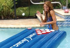 1. Floating Beer Pong Table
