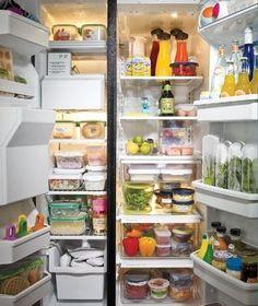 Refrigerator Organization!