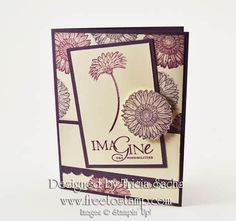 Stampin' Up! (r), card designed by Tricia Sachs, www.freetostamp.com - Reason to Smile, Word Play