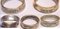 How to Make an Inside-Out Coin Ring | eHow