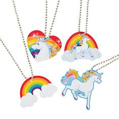 UNICORN-PARTY-Unicorn-Necklaces-Pack-of-4