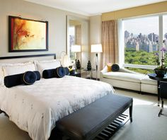Travel and Leisure Best Hotels in New York City: #5 Mandarin Oriental, New York